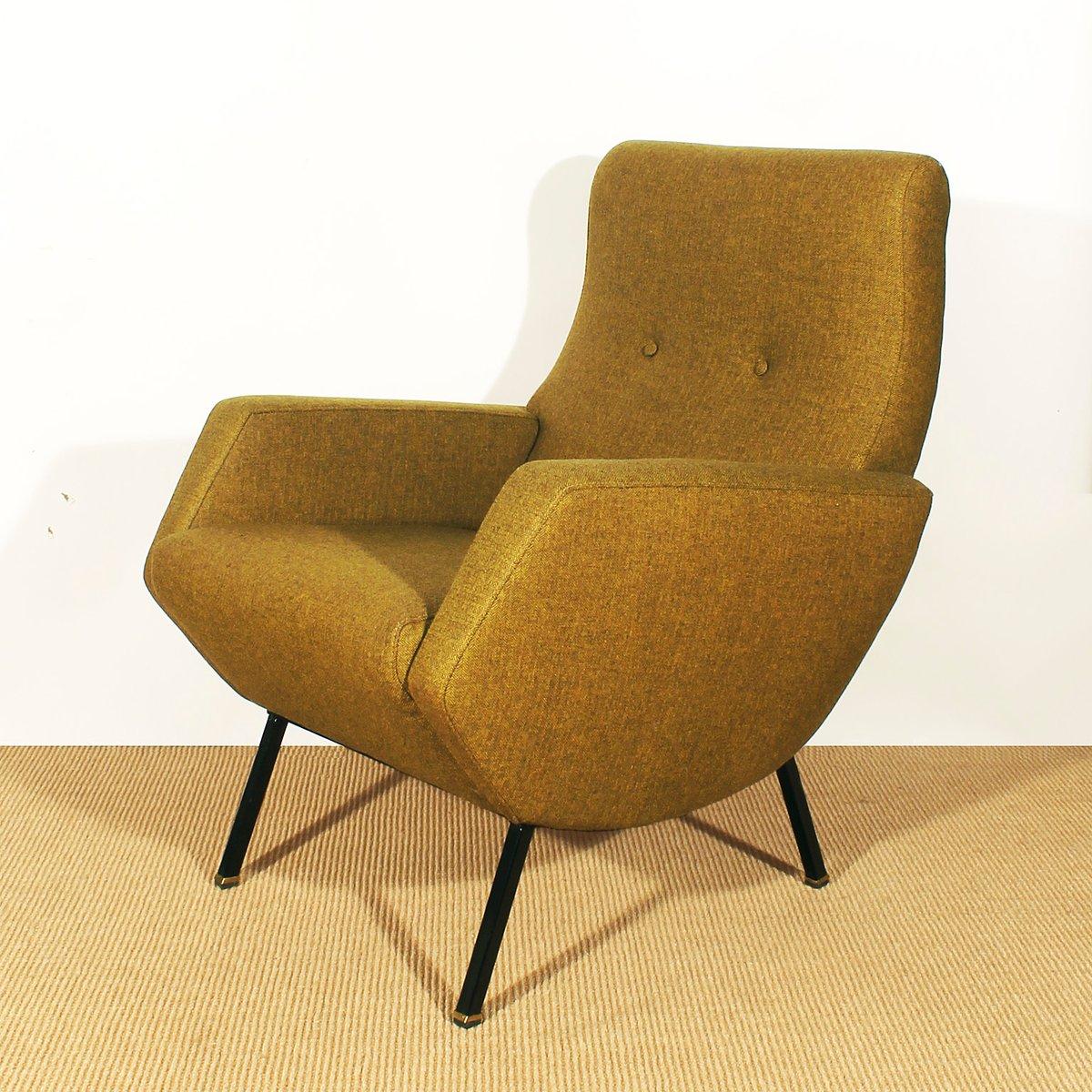 Italienische senffarbene sessel 1960er 2er set bei for Sessel italienisches design