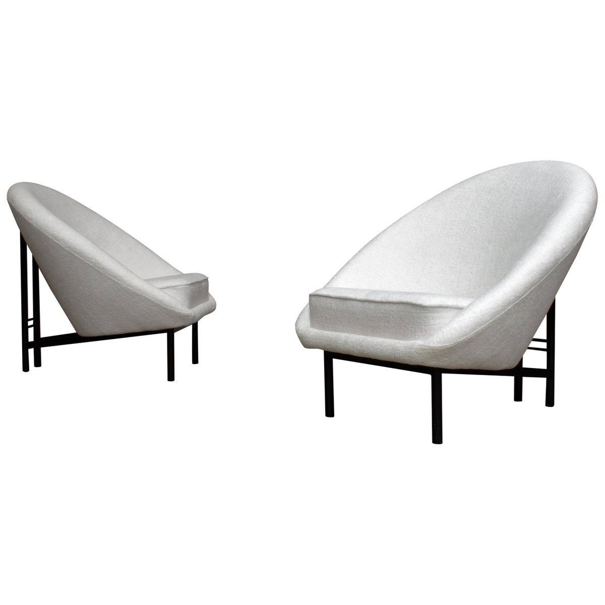 F815 Armchairs By Theo Ruth For Artifort The Netherlands 1958 Set Of 2 For Sale At Pamono
