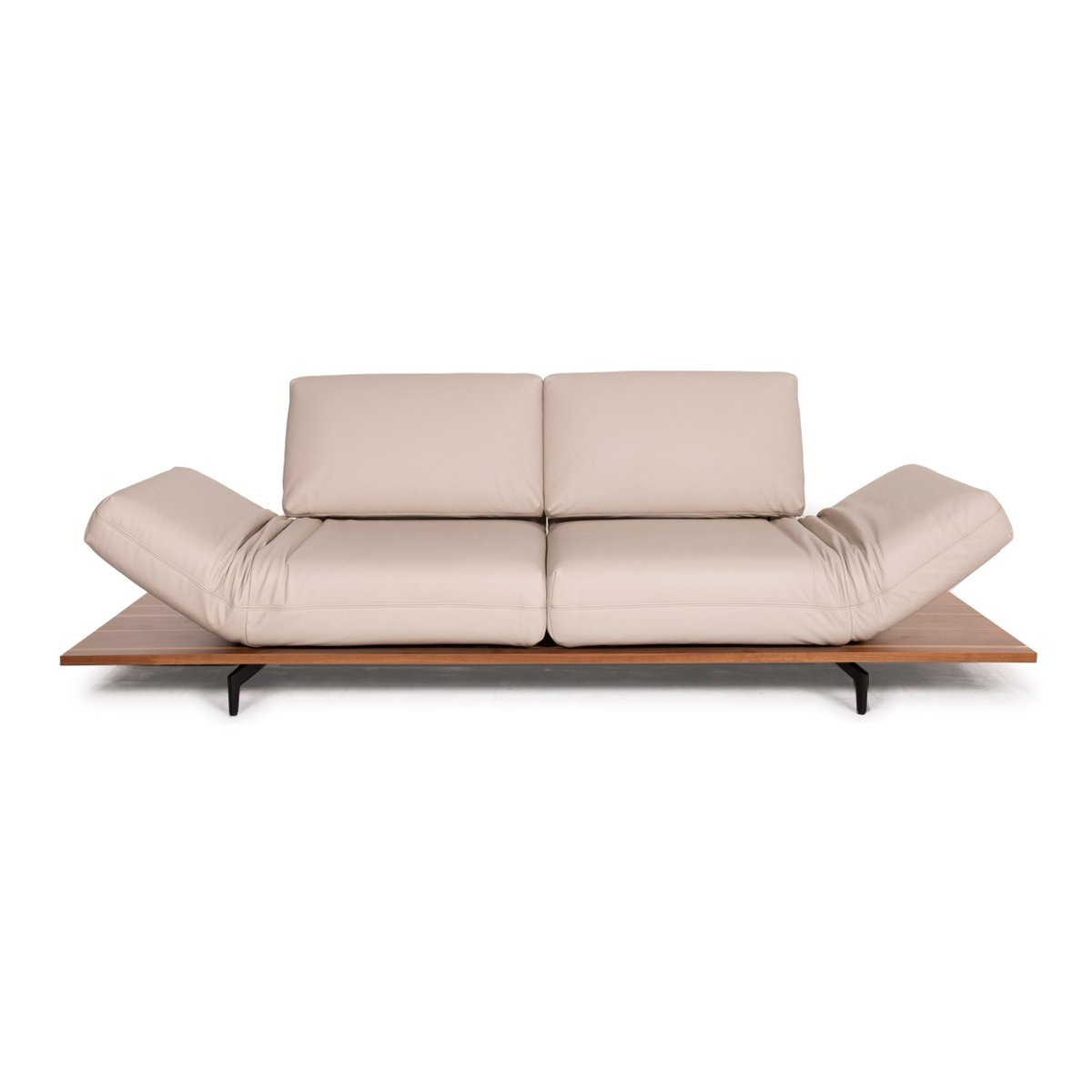 Aura Cream Leather Sofa By Rolf Benz For Sale At Pamono