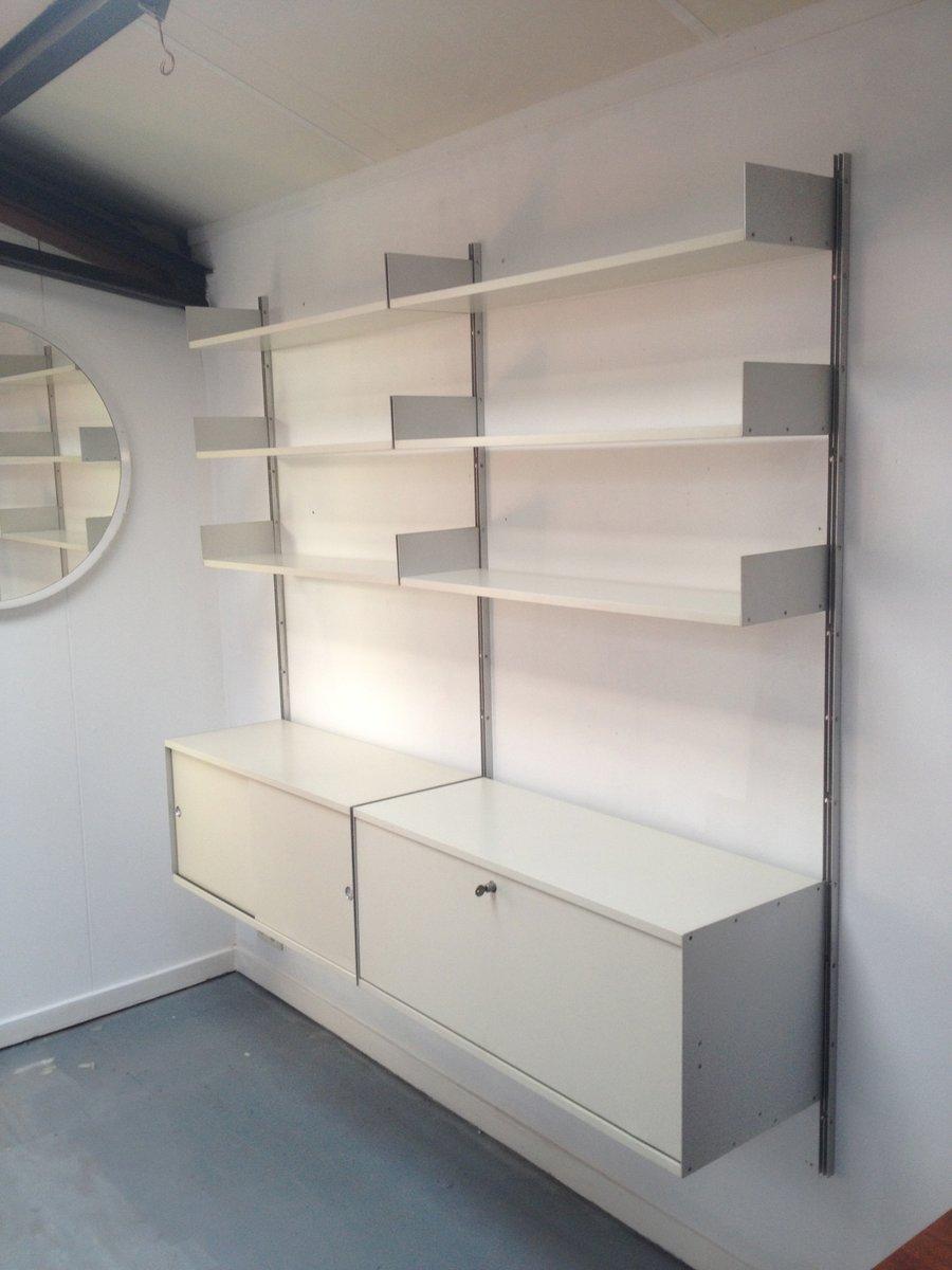 deutsches modulares 606 regalsystem von dieter rams f r vitsoe 1960er bei pamono kaufen. Black Bedroom Furniture Sets. Home Design Ideas