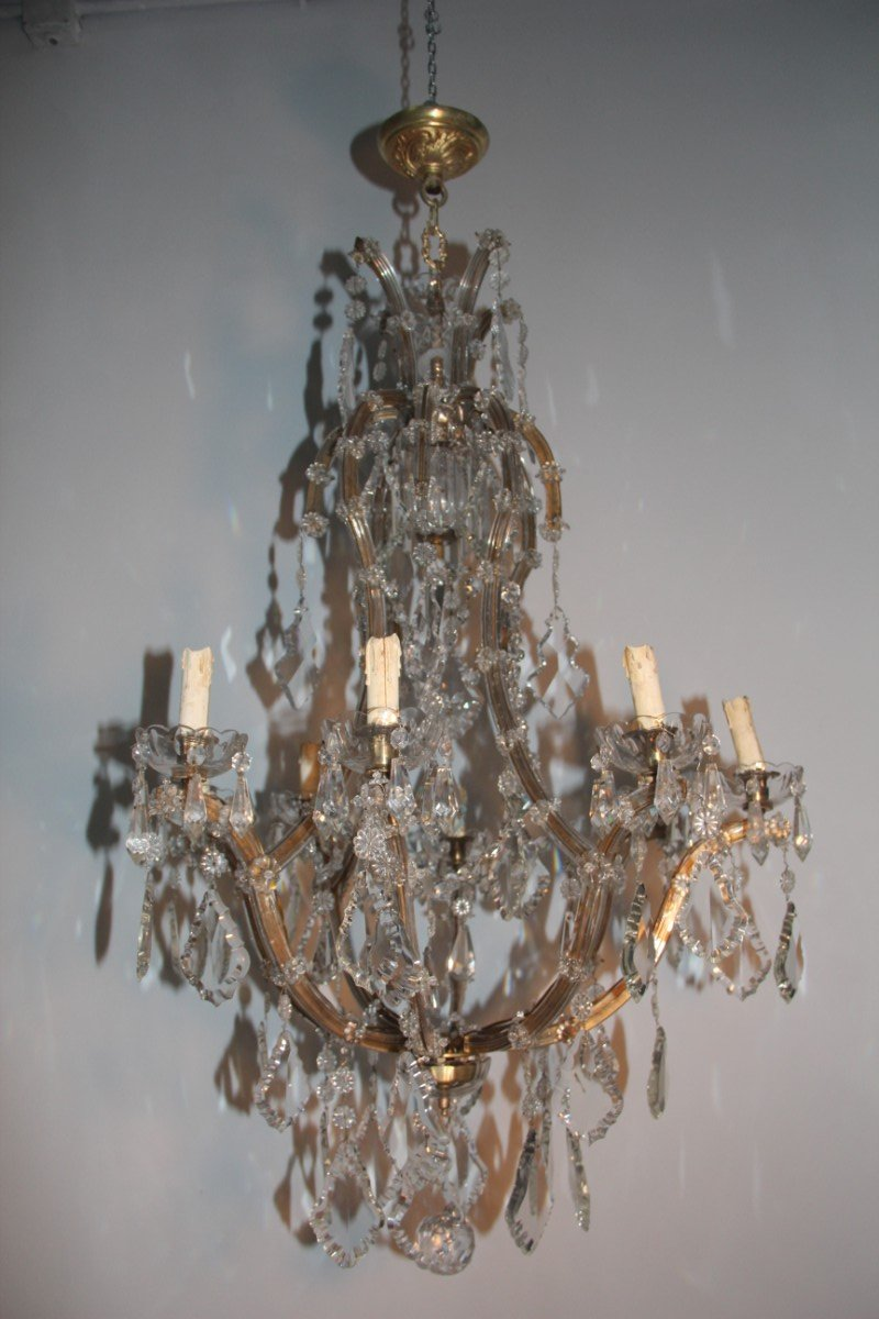 Large italian maria theresa chandelier 1920s for sale at pamono large italian maria theresa chandelier 1920s aloadofball Gallery