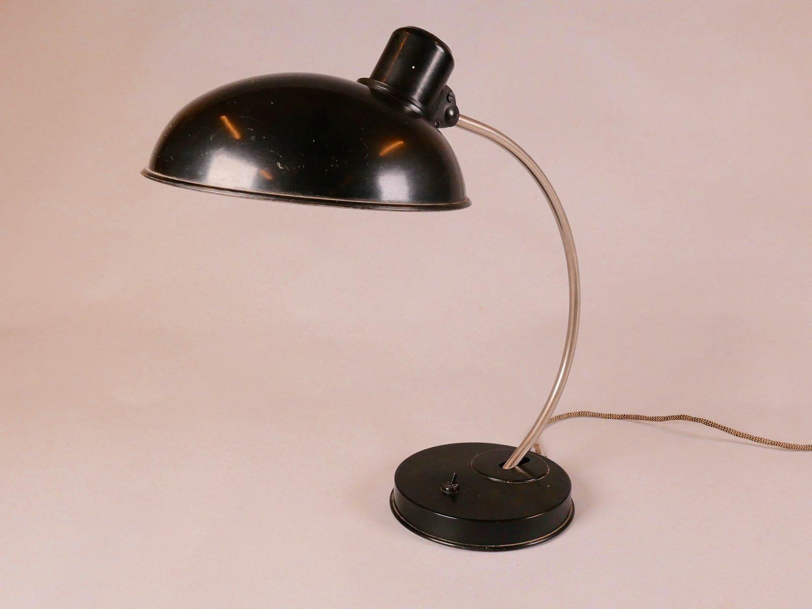 Tischlampe von Marianne Brandt für VEB Leuchtenbau, 1940er