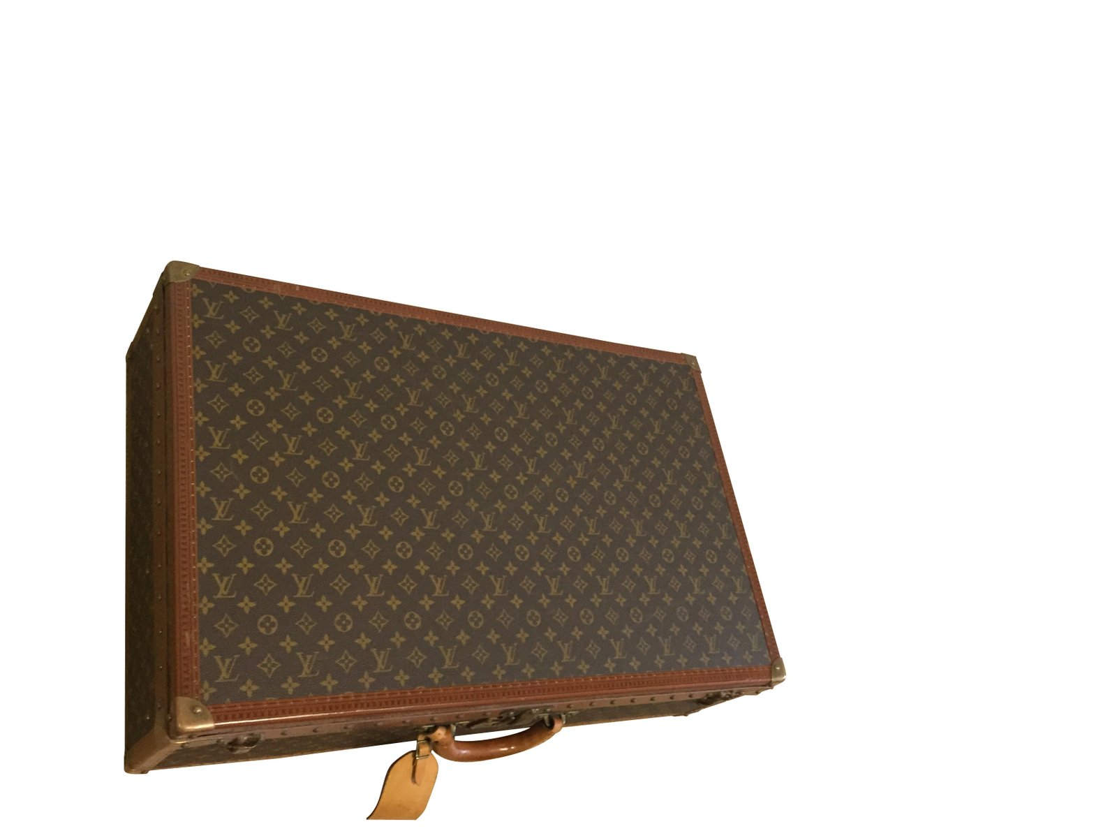 vintage louis vuitton trunk for sale at pamono. Black Bedroom Furniture Sets. Home Design Ideas