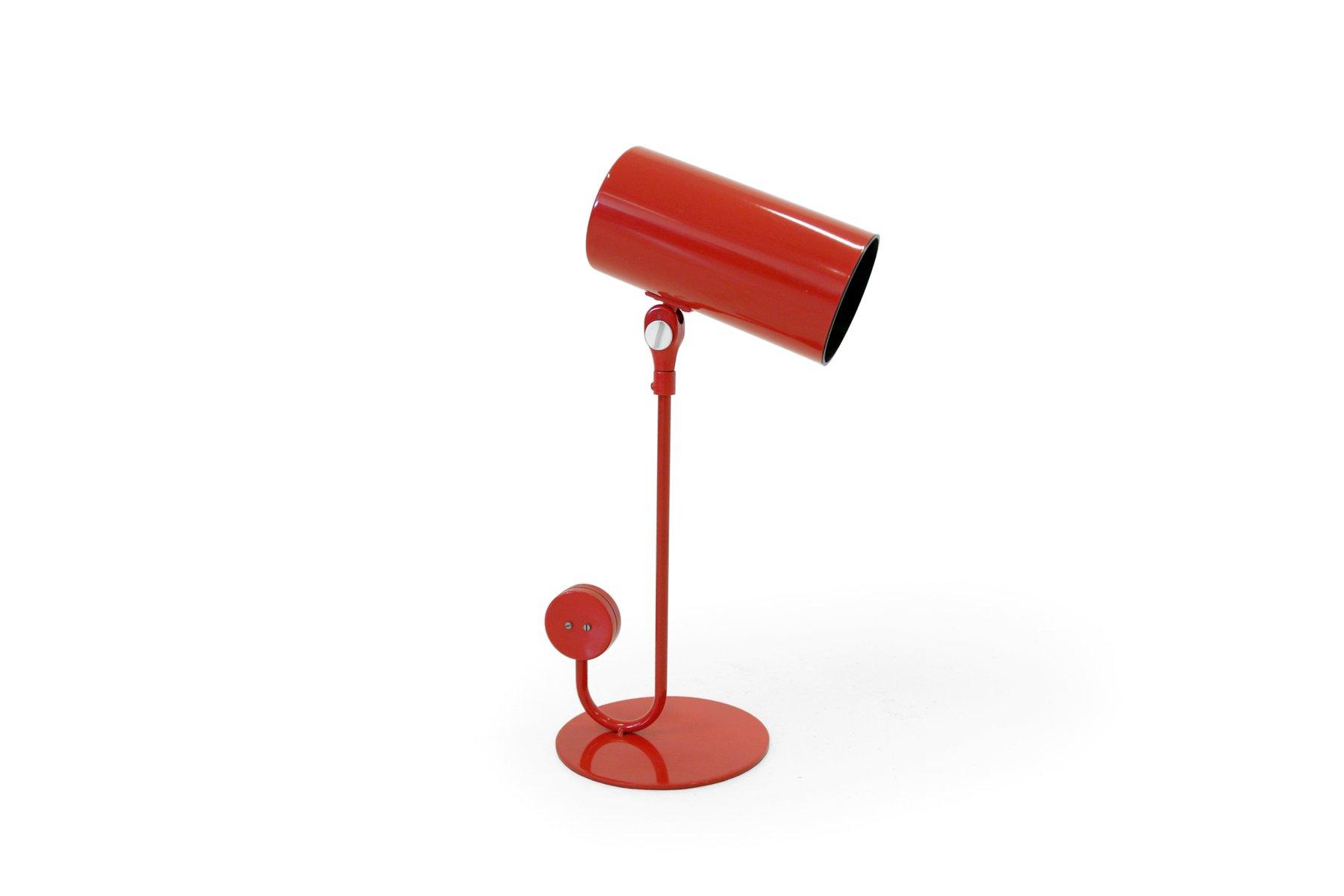 Rote Tischlampe von Atelje? Lyktan, 1960er