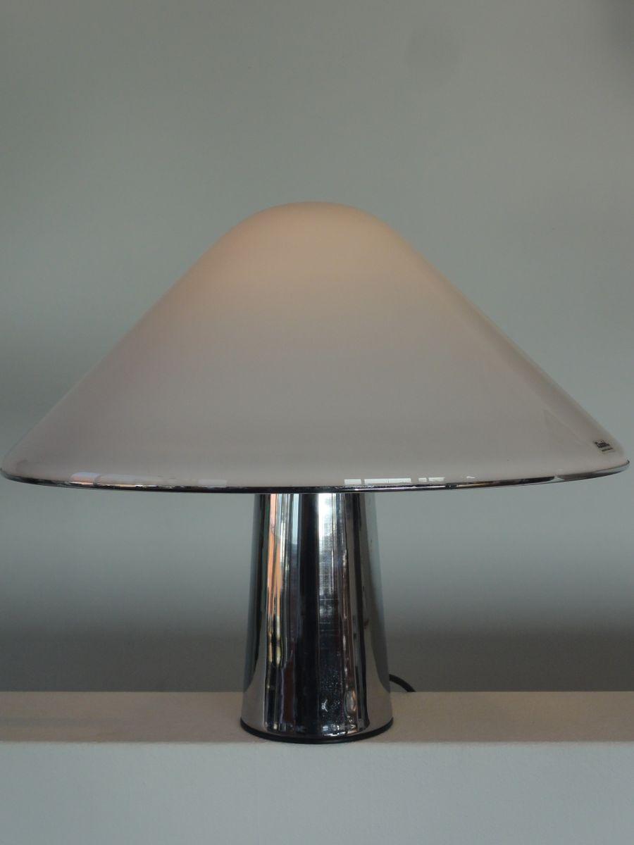 lampe champignon en pl xiglas de iguzzini 1970s en vente sur pamono. Black Bedroom Furniture Sets. Home Design Ideas