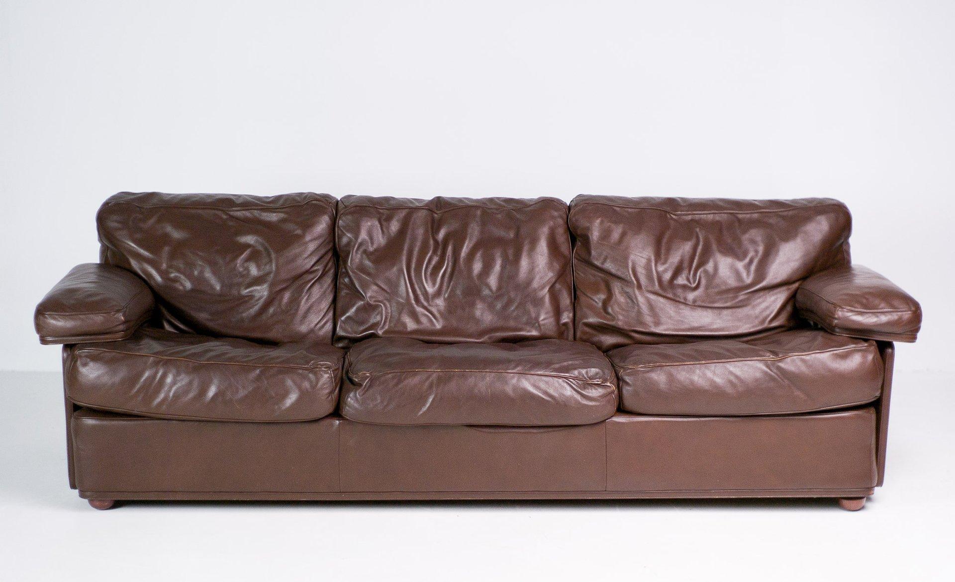 Poltrona Frau.Italian Modern Sofa By Tito Agnoli For Poltrona Frau For Sale At Pamono