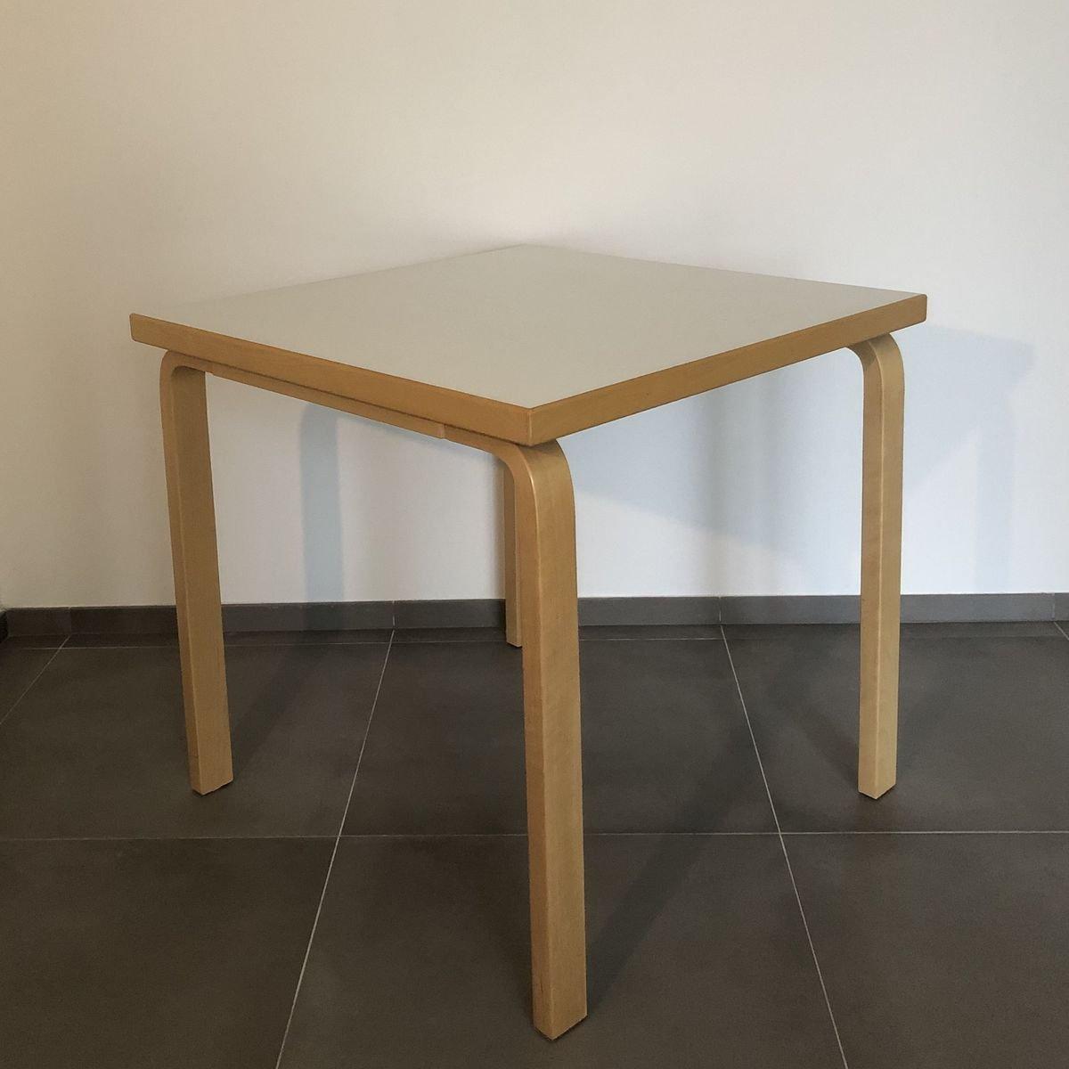 Vintage 12C Tisch von Alvar Aalto für Artek