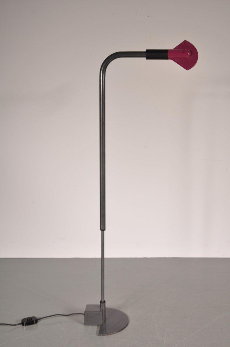 Postmoderne Stehlampe von Hans Von Klier für Bilumen, 1980er