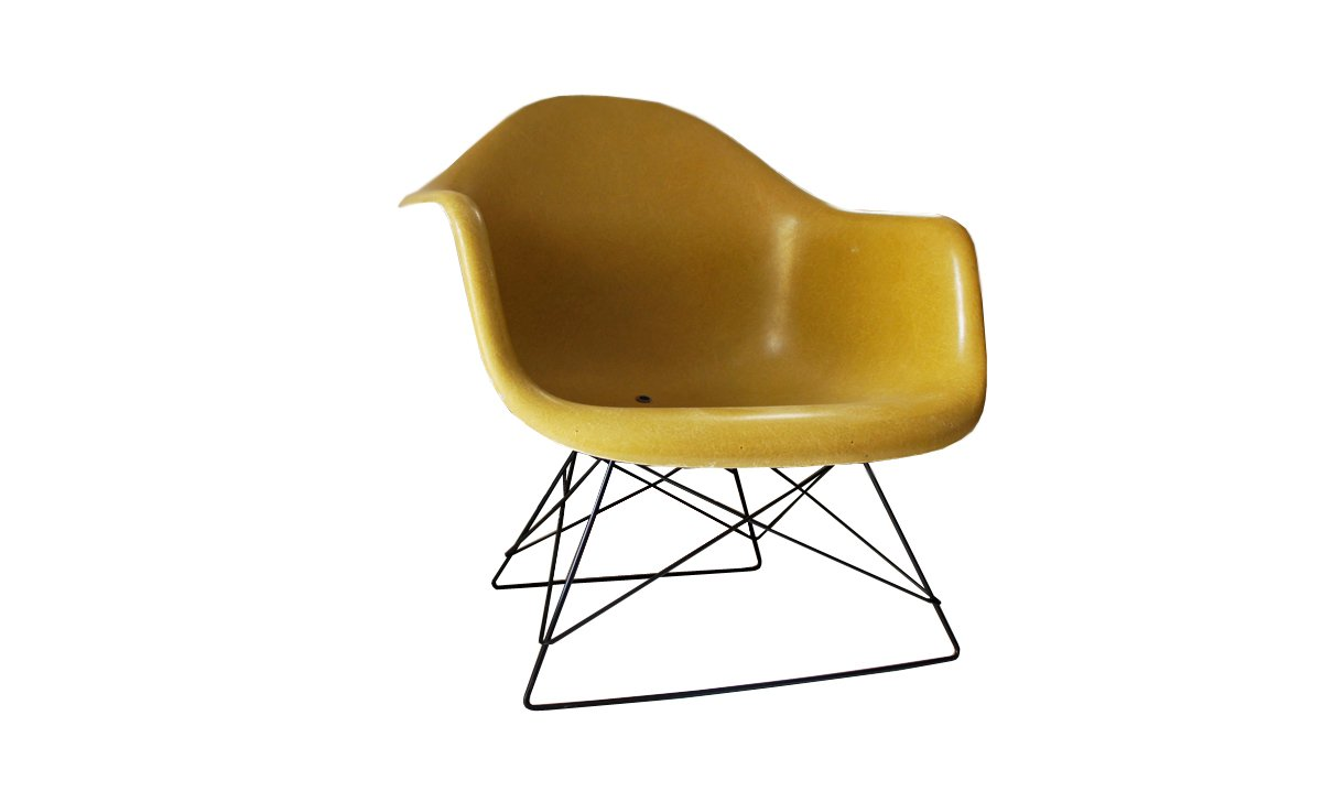 vintage modell lar stuhl von charles und ray eames f r herman miller bei pamono kaufen. Black Bedroom Furniture Sets. Home Design Ideas