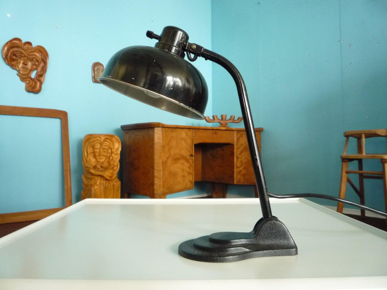 Lampe de bureau en aluminium et métal de hala allemagne en vente