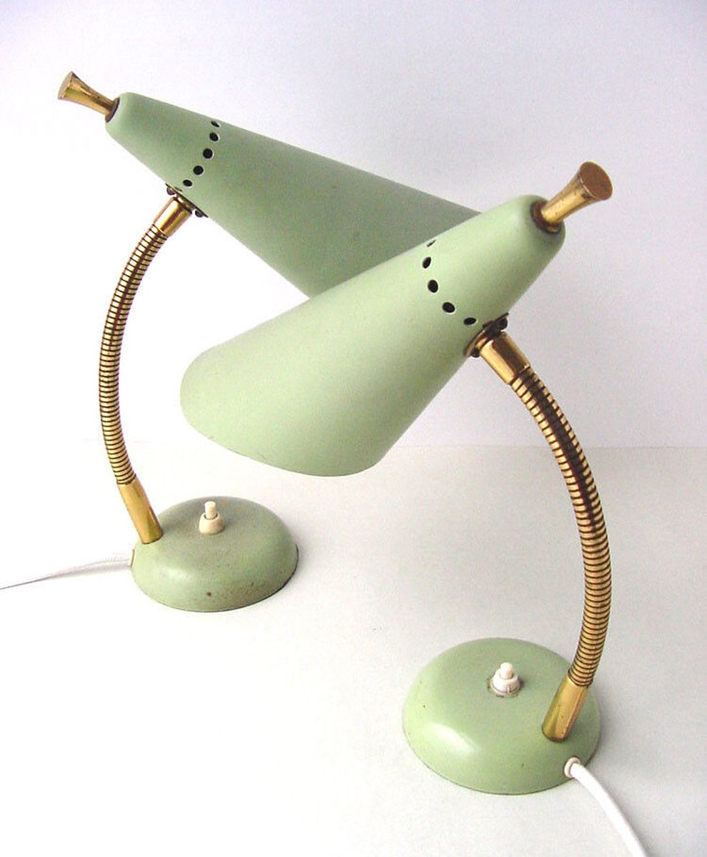 Mid Century Gooseneck Table Lamp For Sale At Pamono