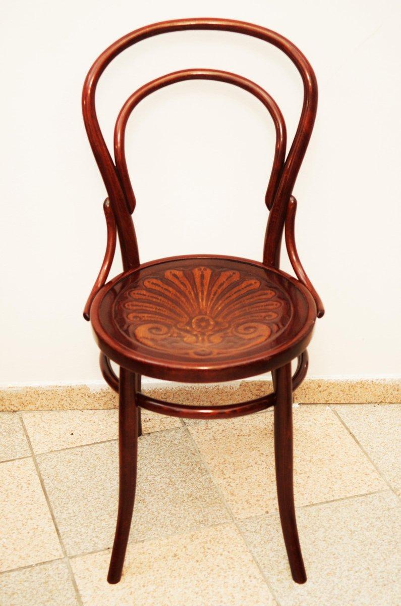 Sedia in faggio e legno curvato 1900 in vendita su pamono for Sedia design legno curvato