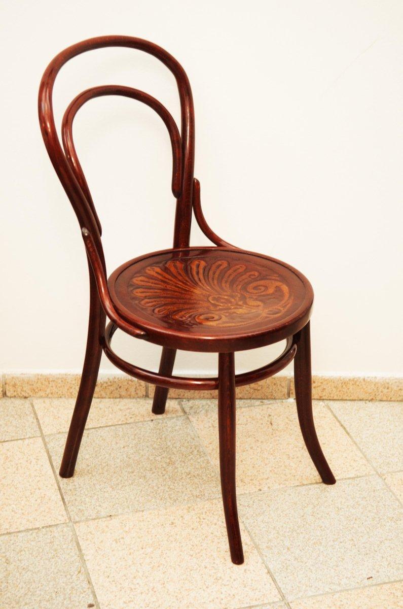 sedia in faggio e legno curvato 1900 in vendita su pamono