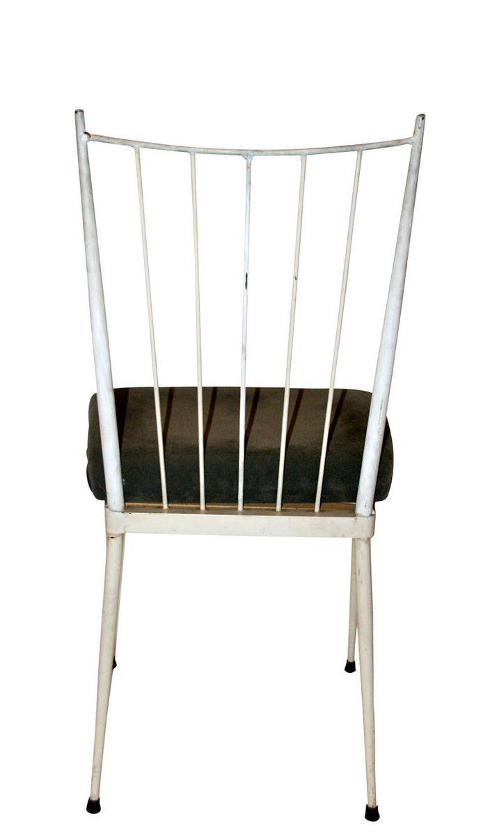 wei e esszimmerst hle 1950er 6er set bei pamono kaufen. Black Bedroom Furniture Sets. Home Design Ideas