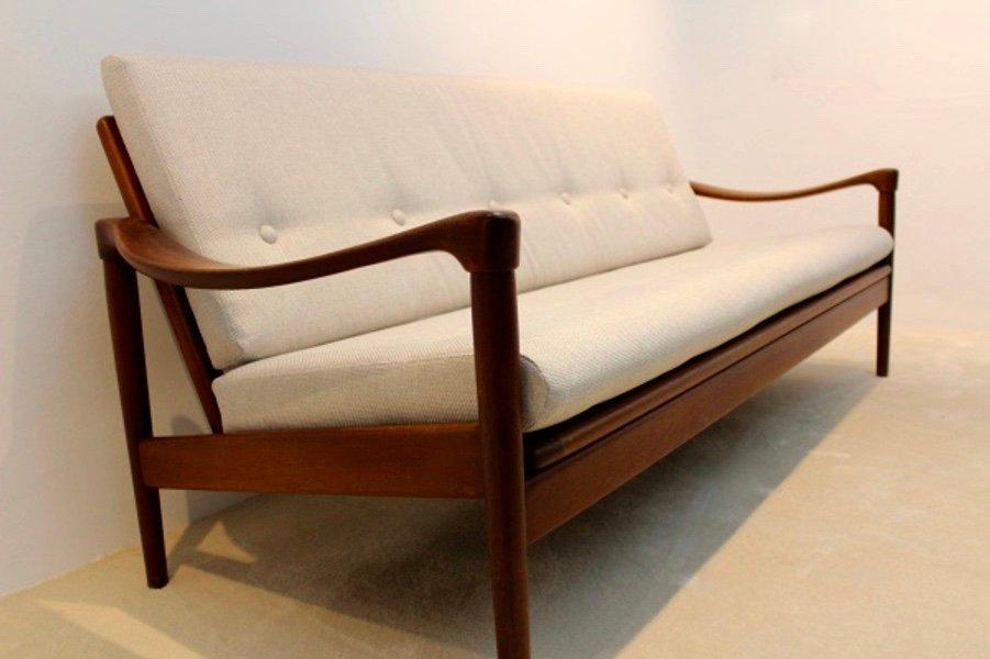 canap trois places vintage de de ster gelderland pays. Black Bedroom Furniture Sets. Home Design Ideas