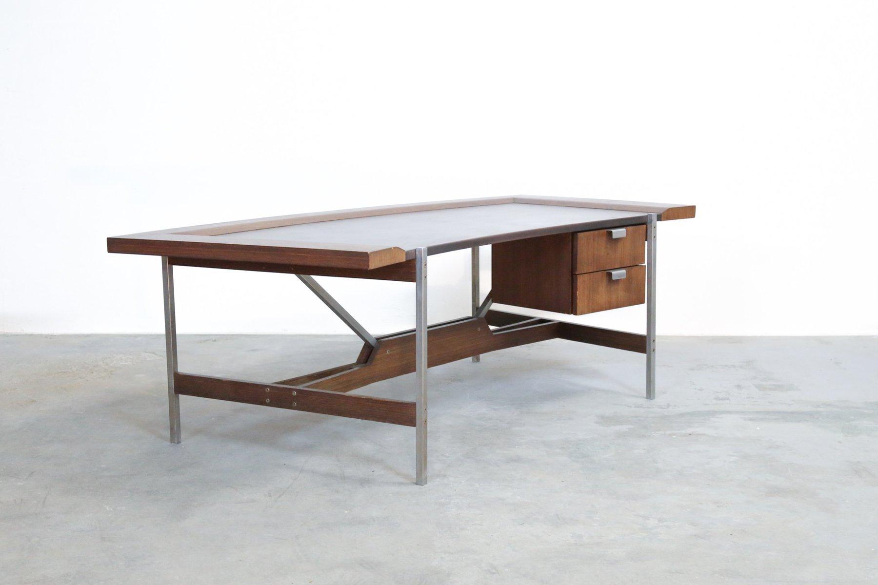 Vintage office desk Home Made Modern Vintage Rosewood Modernist Office Desk Instappraisal Vintage Rosewood Modernist Office Desk For Sale At Pamono