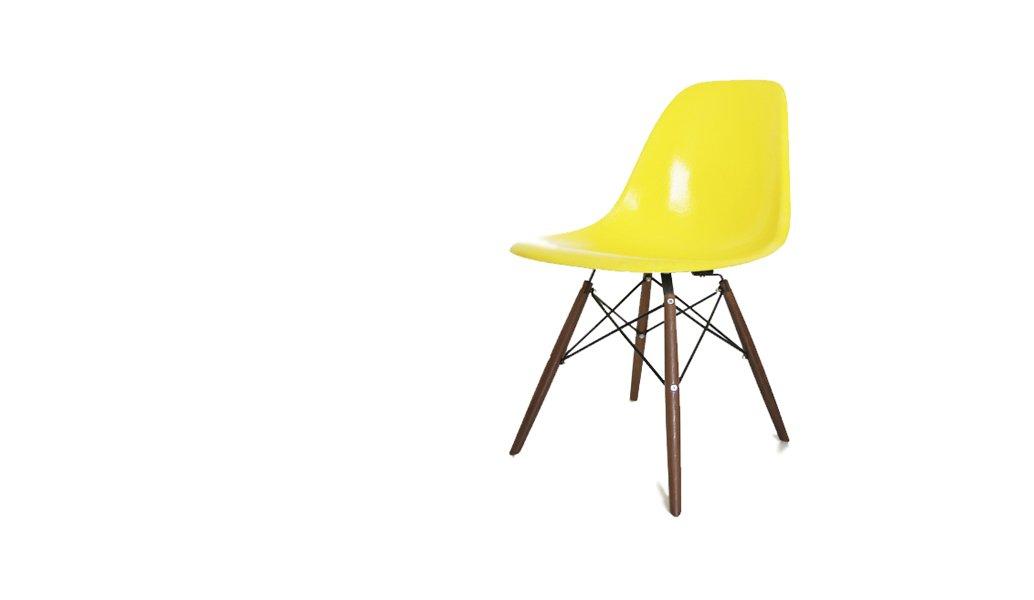 vintage dsw stuhl von charles und ray eames f r herman miller bei pamono kaufen. Black Bedroom Furniture Sets. Home Design Ideas