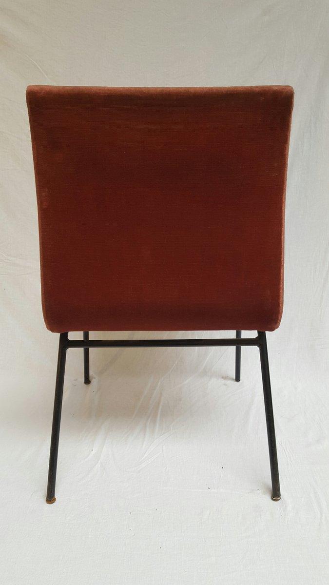 chaise d 39 appoint mod le tv par pierre paulin 1954 en vente sur pamono. Black Bedroom Furniture Sets. Home Design Ideas