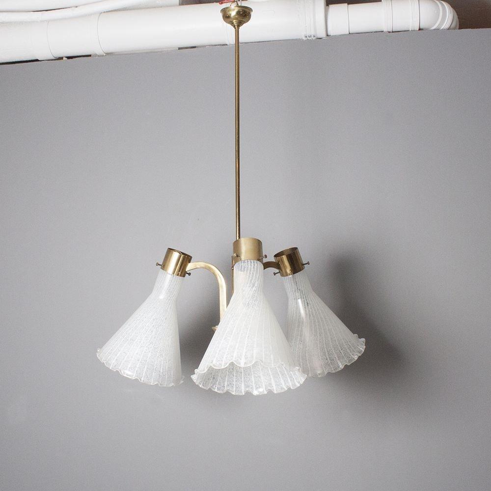 Venezianische Muranoglas Deckenlampe