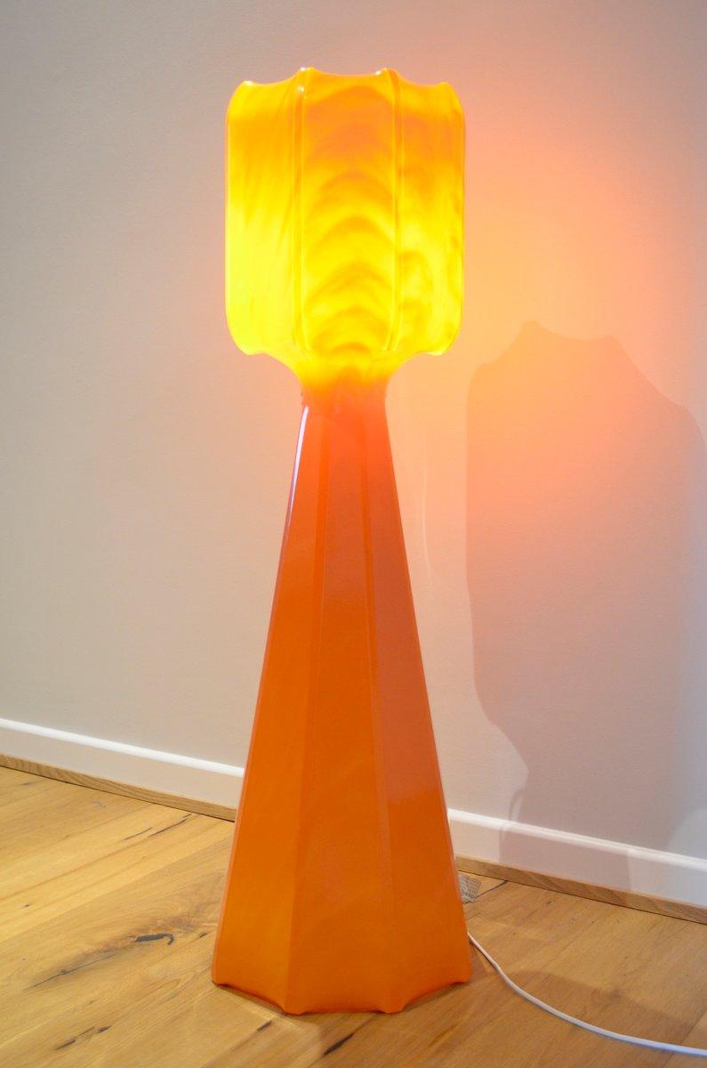 Deutsche Vintage Stehlampe von Ilka Plast, 1960er