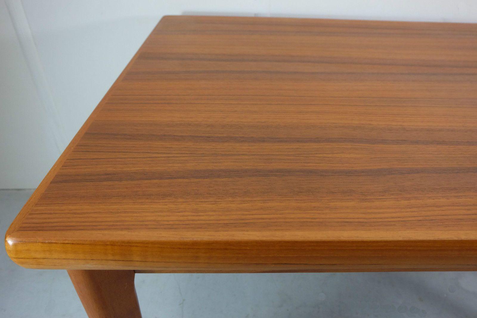 d nischer teak esstisch mit zwei eins tzen 1970er bei pamono kaufen. Black Bedroom Furniture Sets. Home Design Ideas