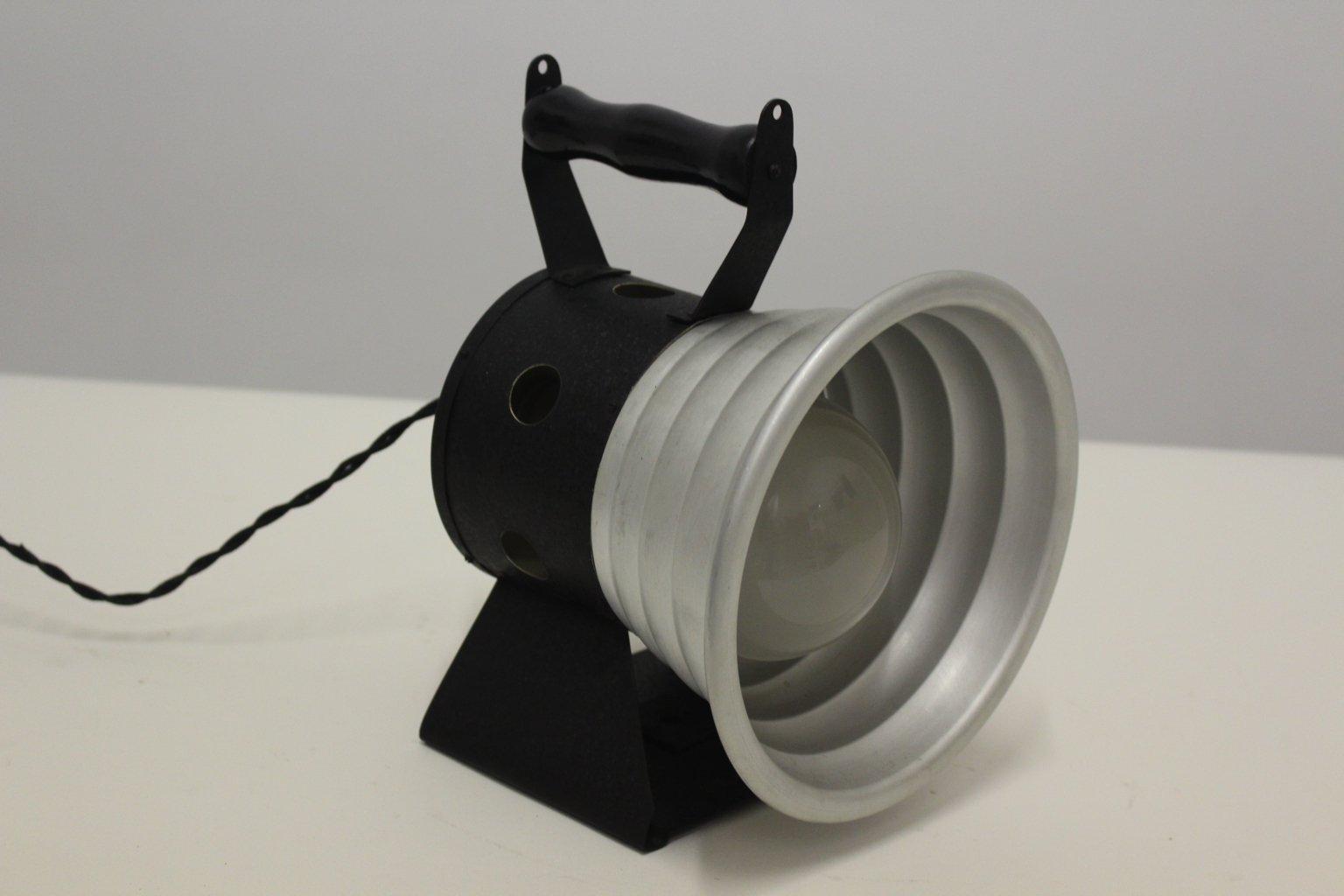 Scheinwerfer Tischlampe, 1950er