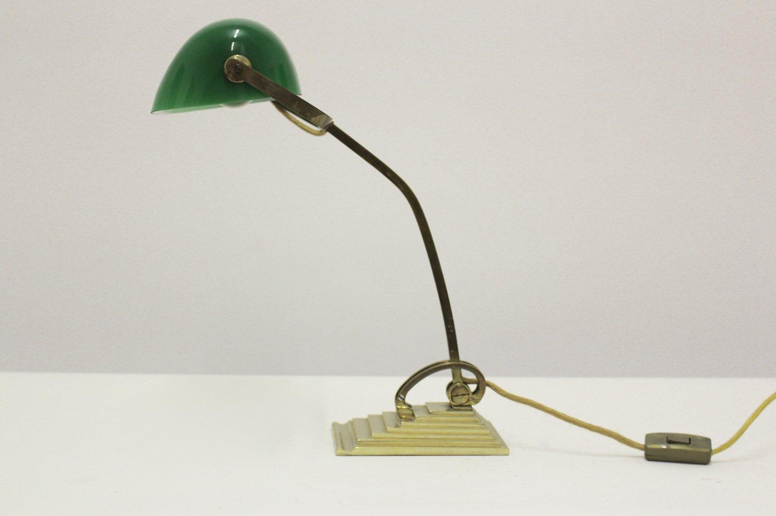 Deutsche Art Deco Tischlampe von Horax, 1915