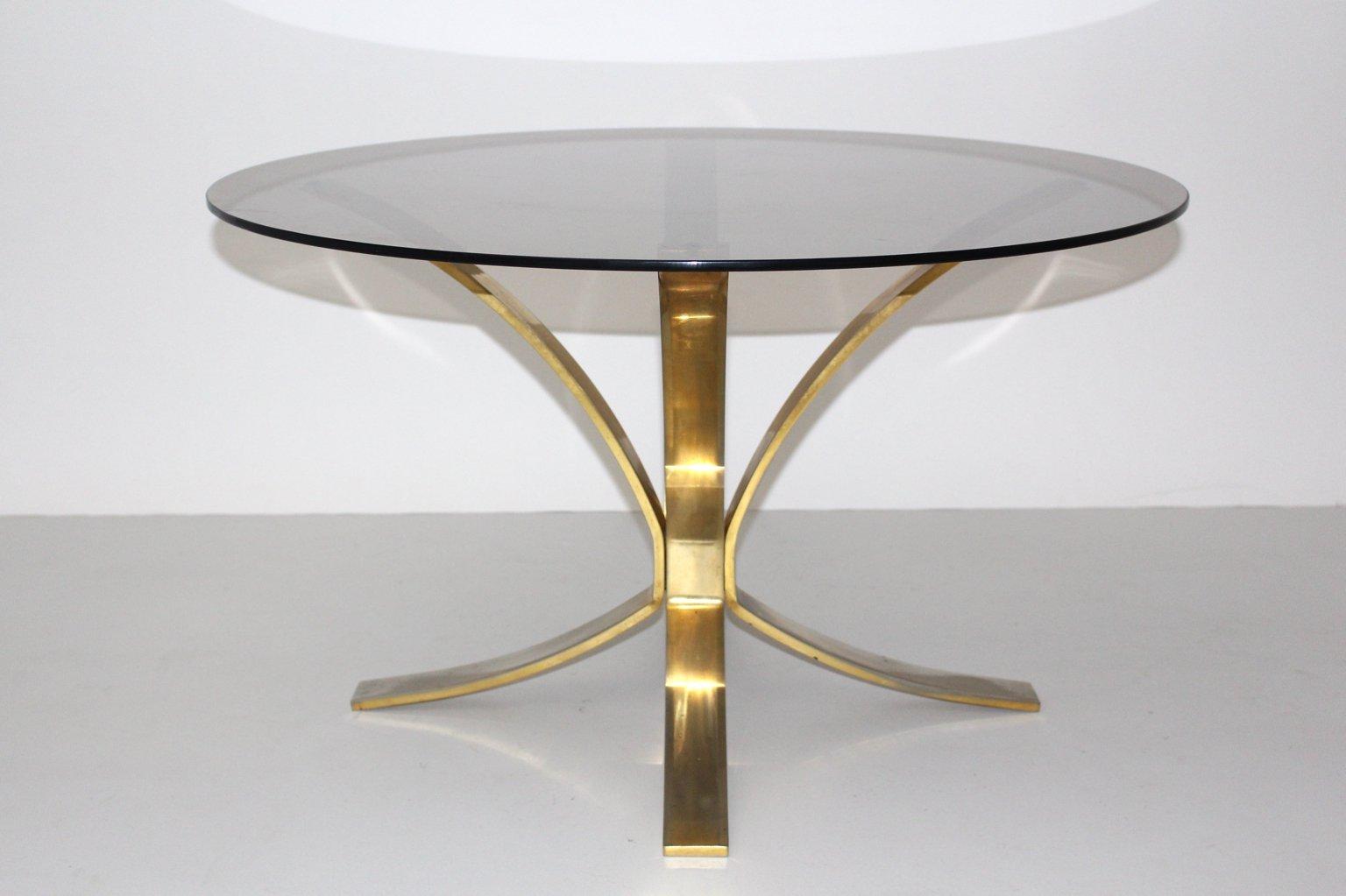 Runder Couchtisch von Roger Sprunger für Dunbar Furniture