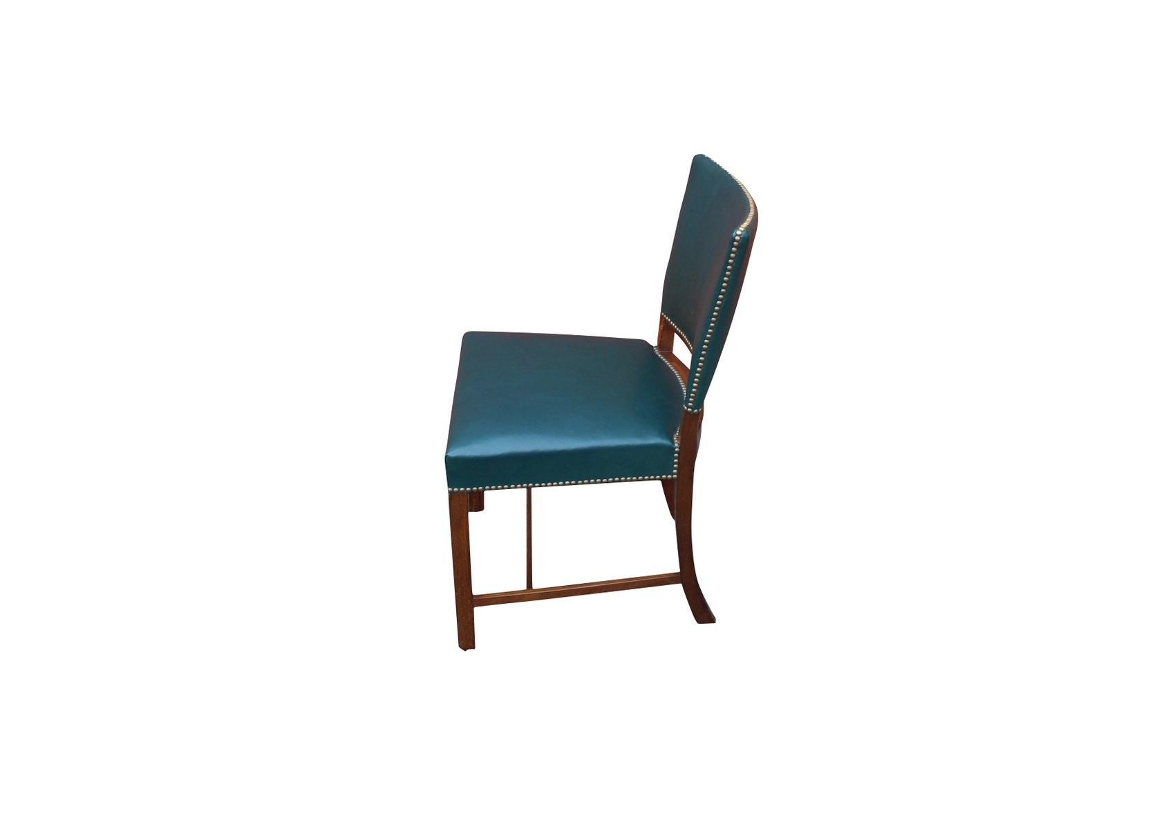 Stühle Aus Poliertem Holz Von Fritz Hansen 1930er 8er