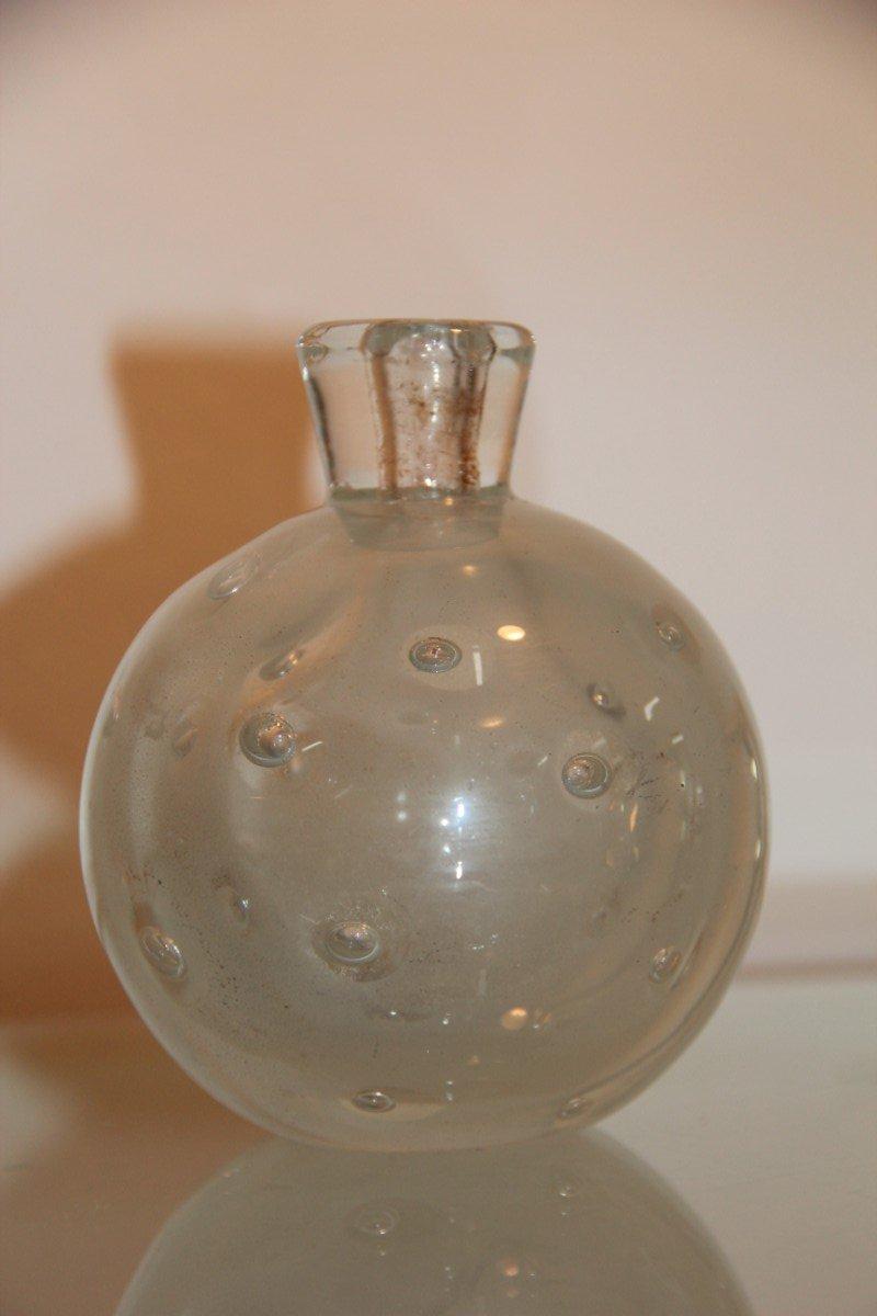 kleine vase aus glas von barovier 1940 bei pamono kaufen. Black Bedroom Furniture Sets. Home Design Ideas