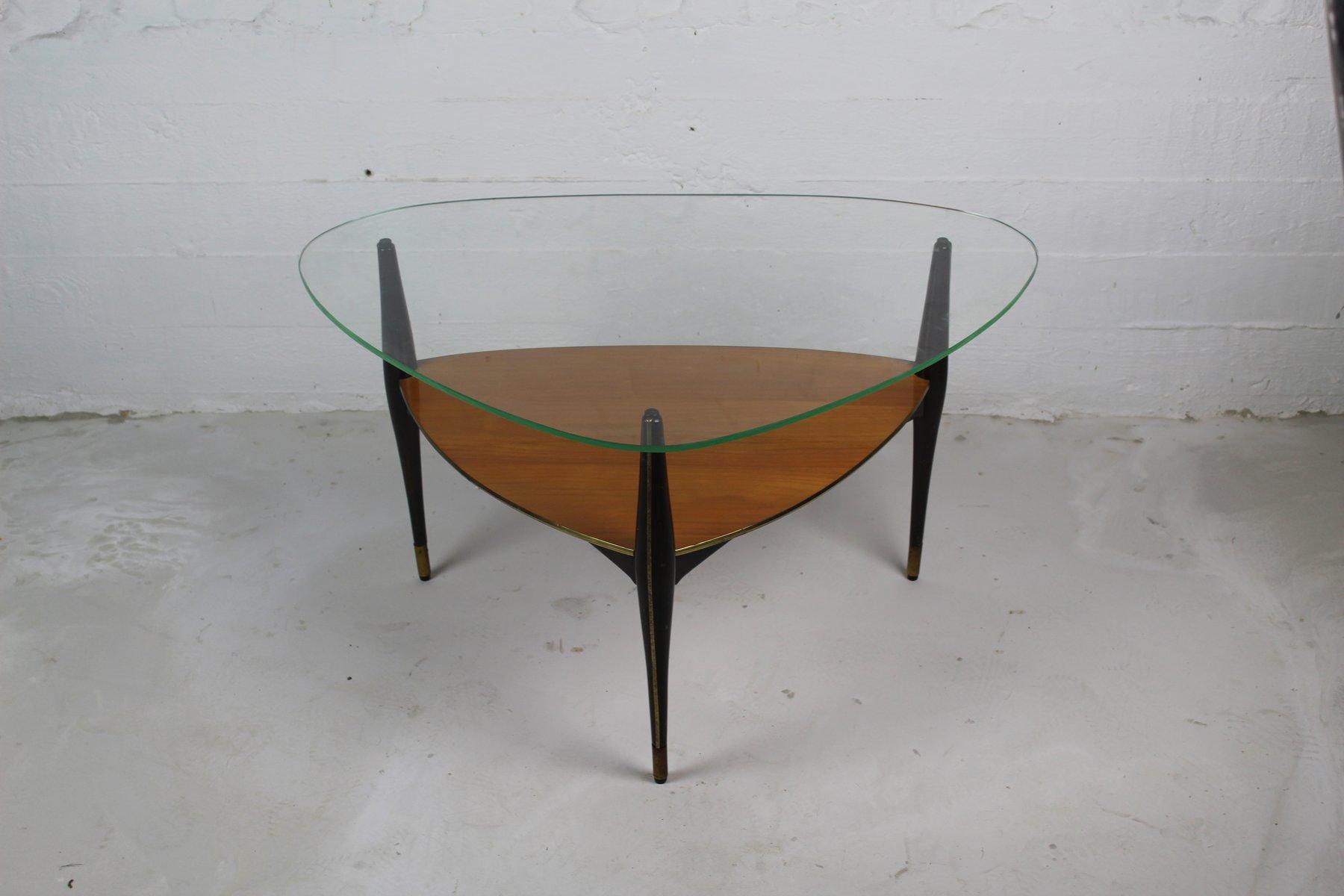 Italian Mid Century Tripod Table