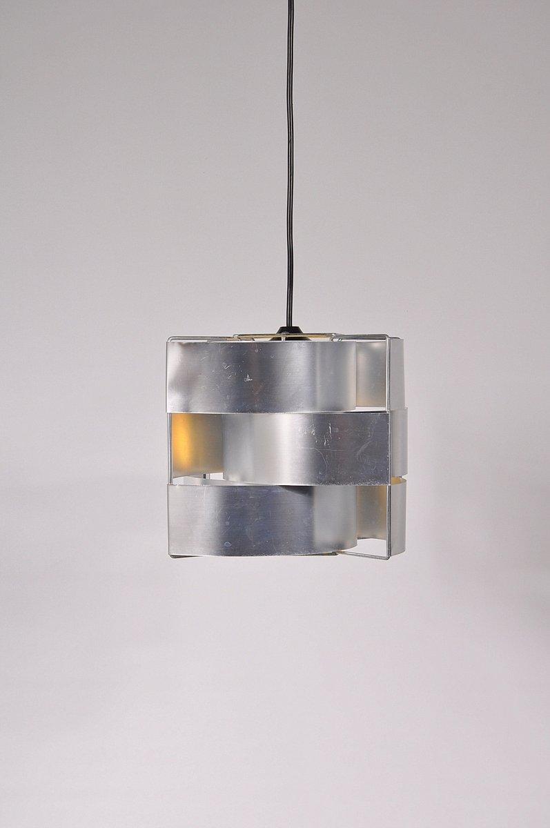 Hängelampe aus Aluminium von Max Sauze, 1960er