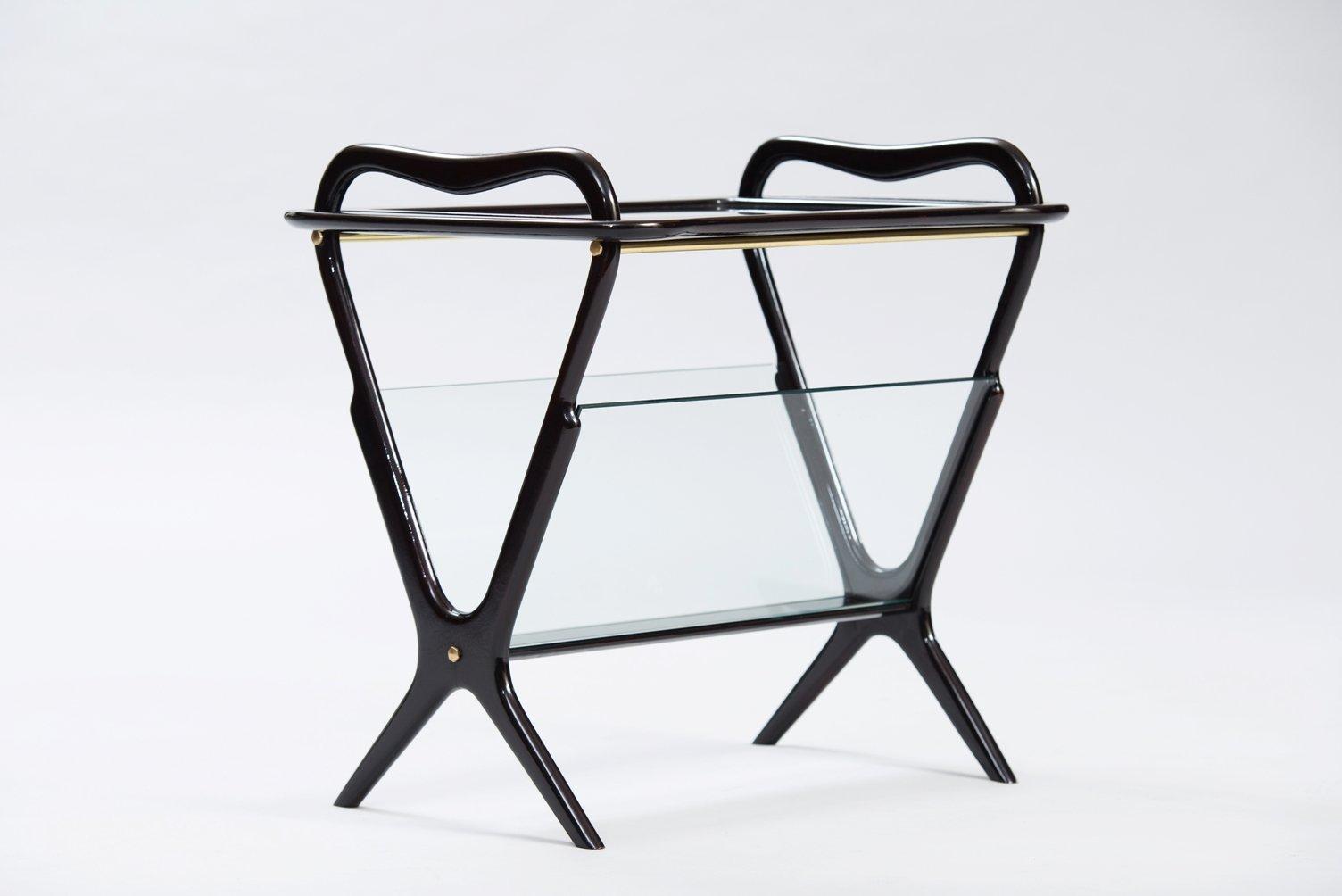 beistelltisch von ico parisi f r de baggis bei pamono kaufen. Black Bedroom Furniture Sets. Home Design Ideas