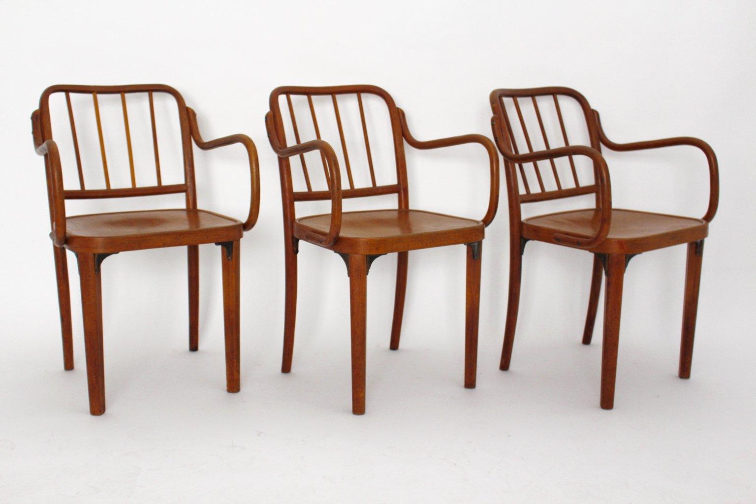 Sedia in legno curvato di thonet austria anni 39 30 in for Sedie design anni 20