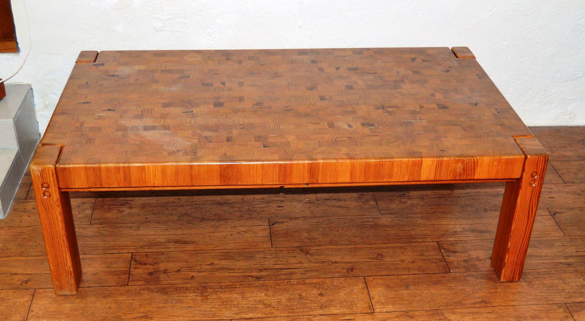 Bon Danish Pine Coffee Table, 1970s