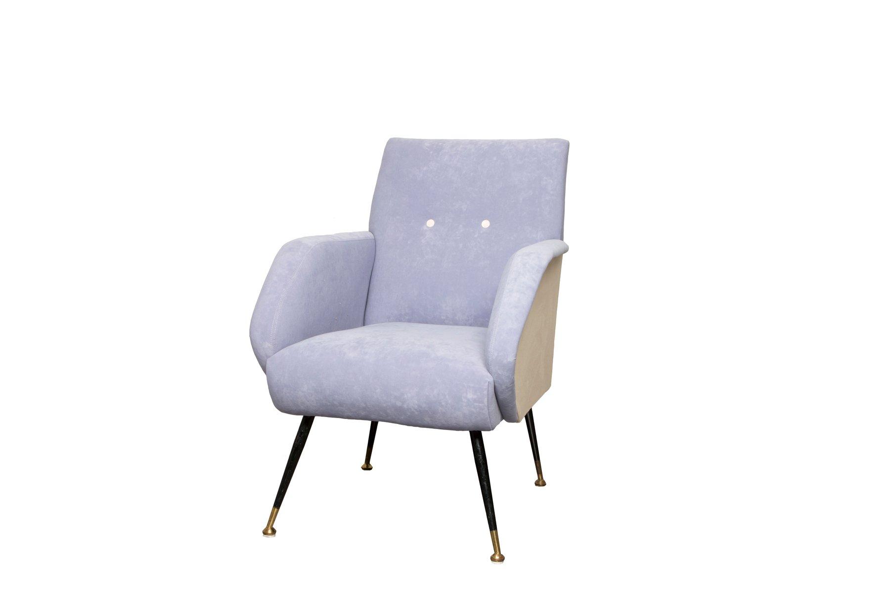 malvenfarbene italienische sessel 1950er 2er set bei pamono kaufen. Black Bedroom Furniture Sets. Home Design Ideas