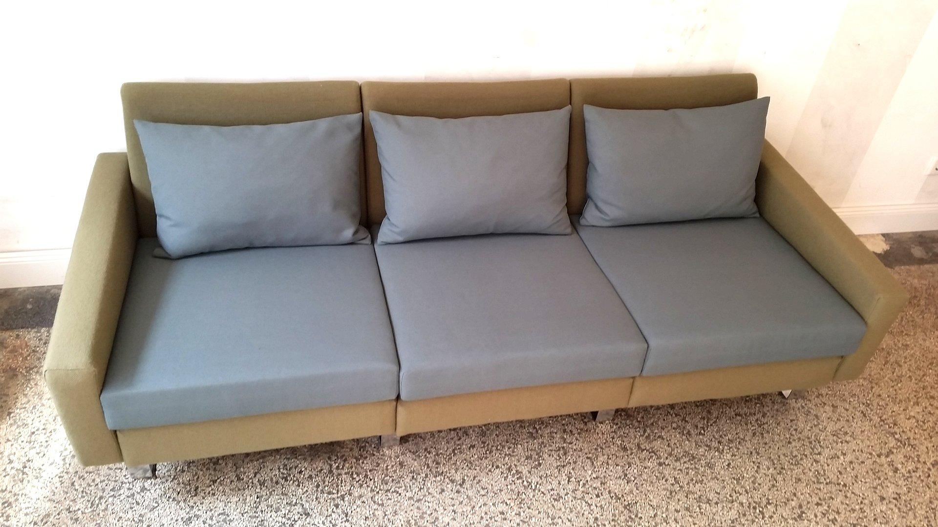 canap trois places modulable par friedrich wilhelm m ller pour cor en vente sur pamono. Black Bedroom Furniture Sets. Home Design Ideas