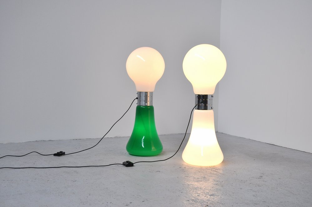 Birillo Stehlampe von Sergio Mazzega für Vistosi