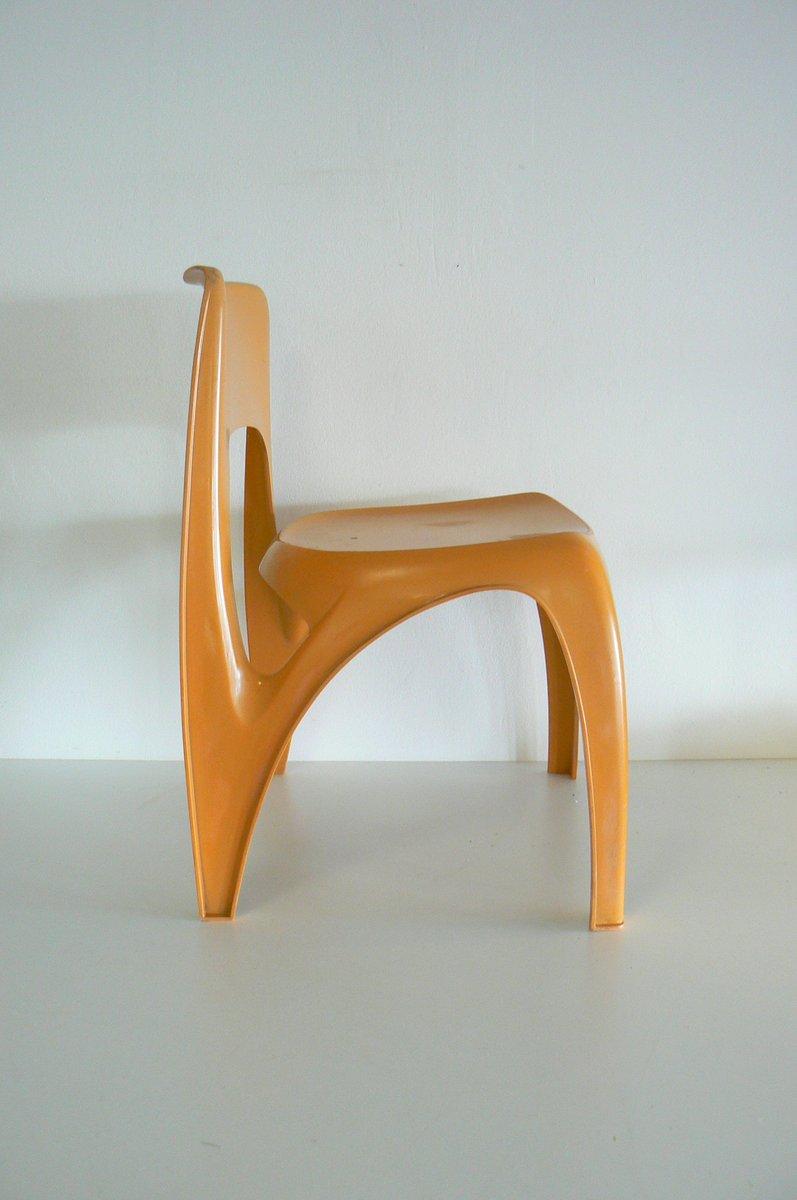 Sedia di preben fabricius per interplast anni 39 70 in for Sedia design anni 70