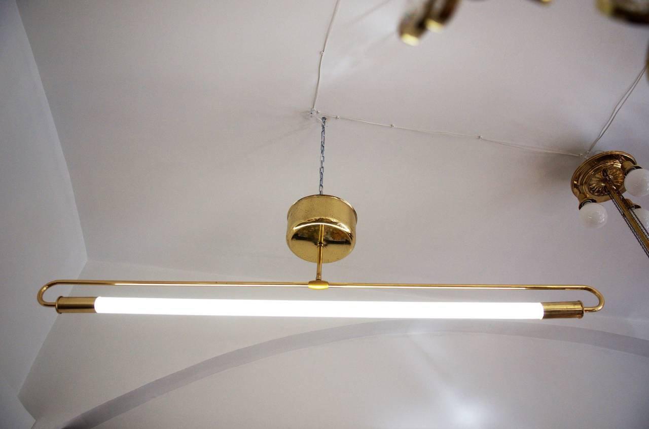 Industrielle Deckenlampe, 1935