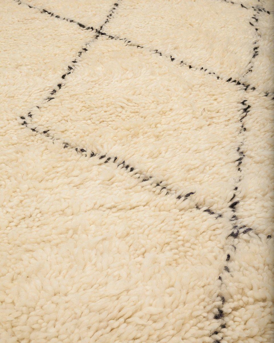 marokkanischer contemporary berber teppich von beni. Black Bedroom Furniture Sets. Home Design Ideas
