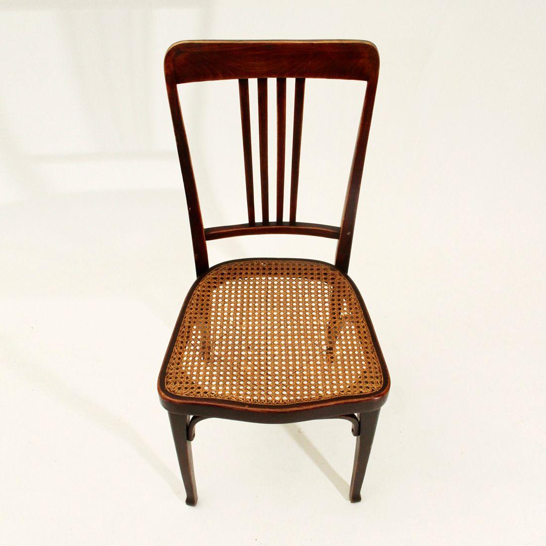 jugendstil mod 675 st hle von thonet 1900er 6er set bei pamono kaufen. Black Bedroom Furniture Sets. Home Design Ideas