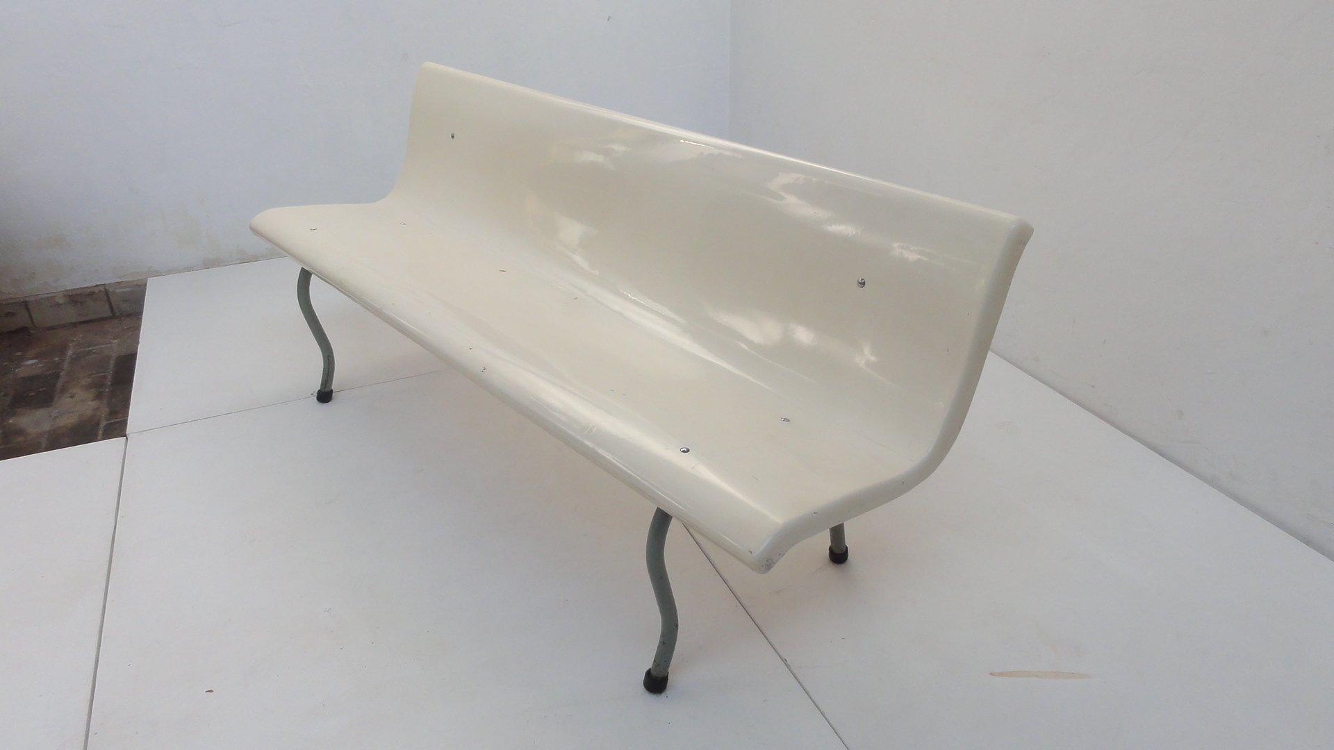 Sitzbank aus Krankenhaus, 1960er