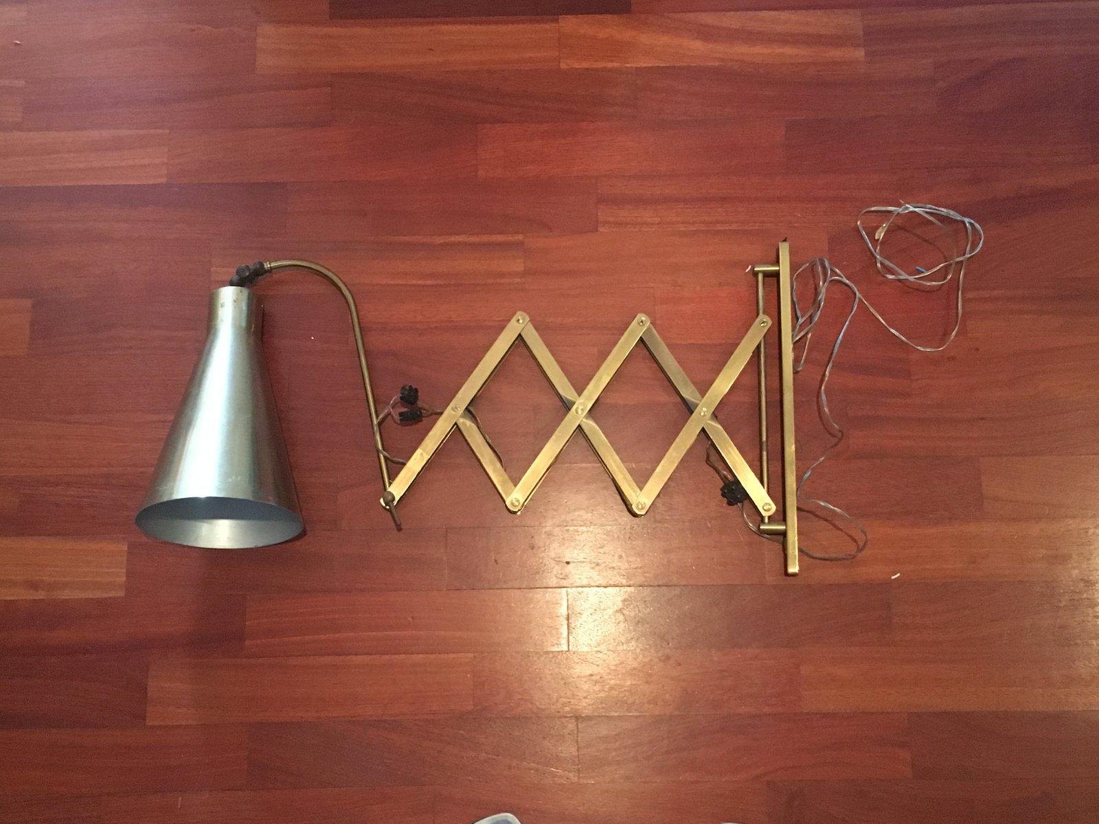 Pantograph Wandlampe, 1960er