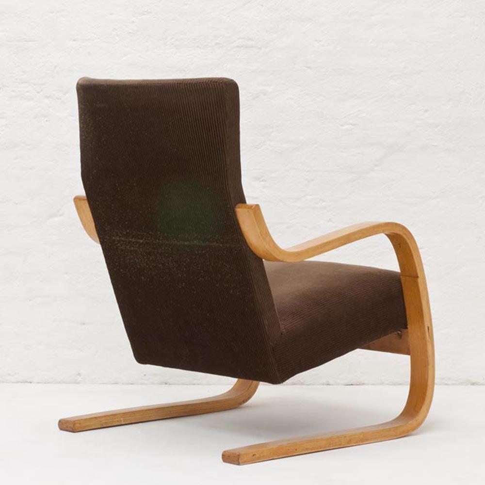 fauteuil a36 par alvar aalto pour finmar artek 1933 en vente sur pamono. Black Bedroom Furniture Sets. Home Design Ideas