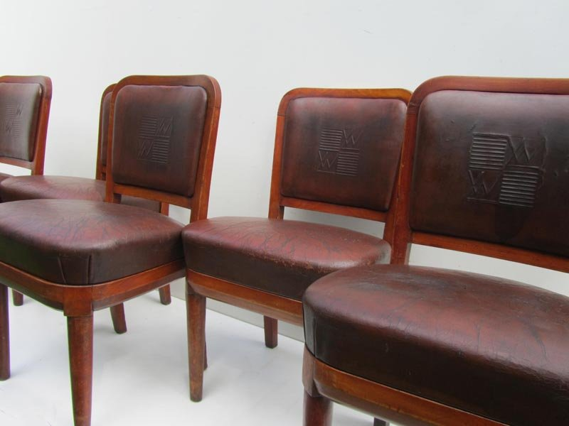 Price per set - Antique Nautical Cruise Ship Chairs, 1900s, Set Of 5 For Sale At Pamono