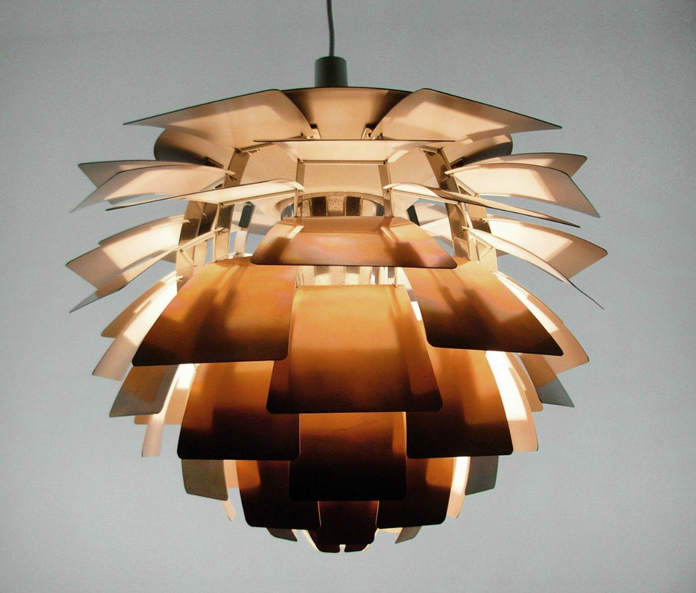 vintage artichoke lampe von poul henningsen f r louis poulsen bei pamono kaufen. Black Bedroom Furniture Sets. Home Design Ideas