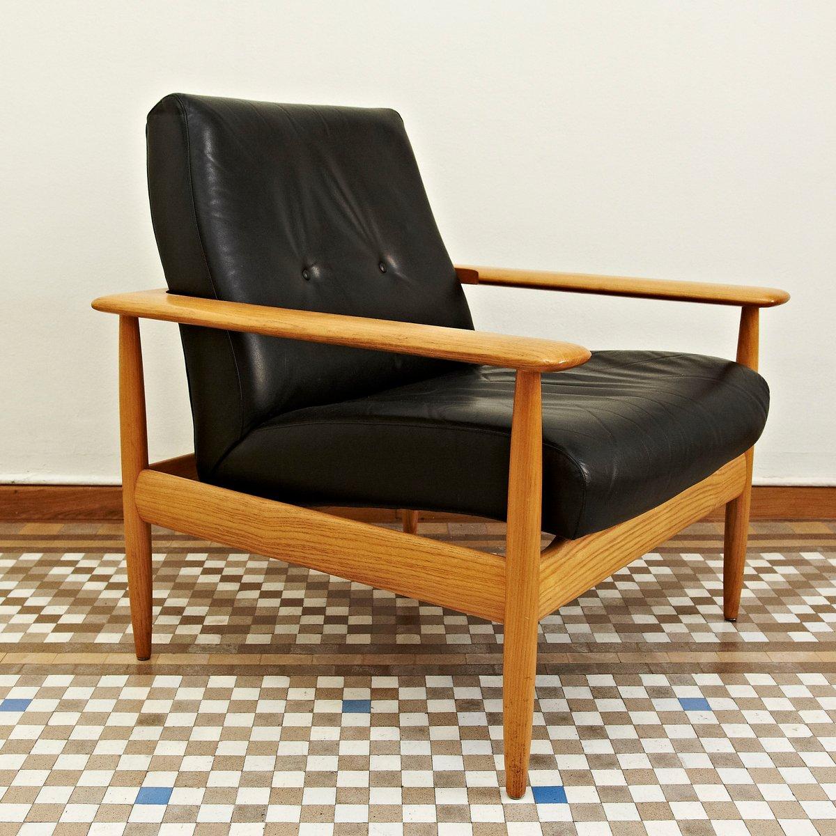 Skandinavischer Mid-Century Sessel, 1950er