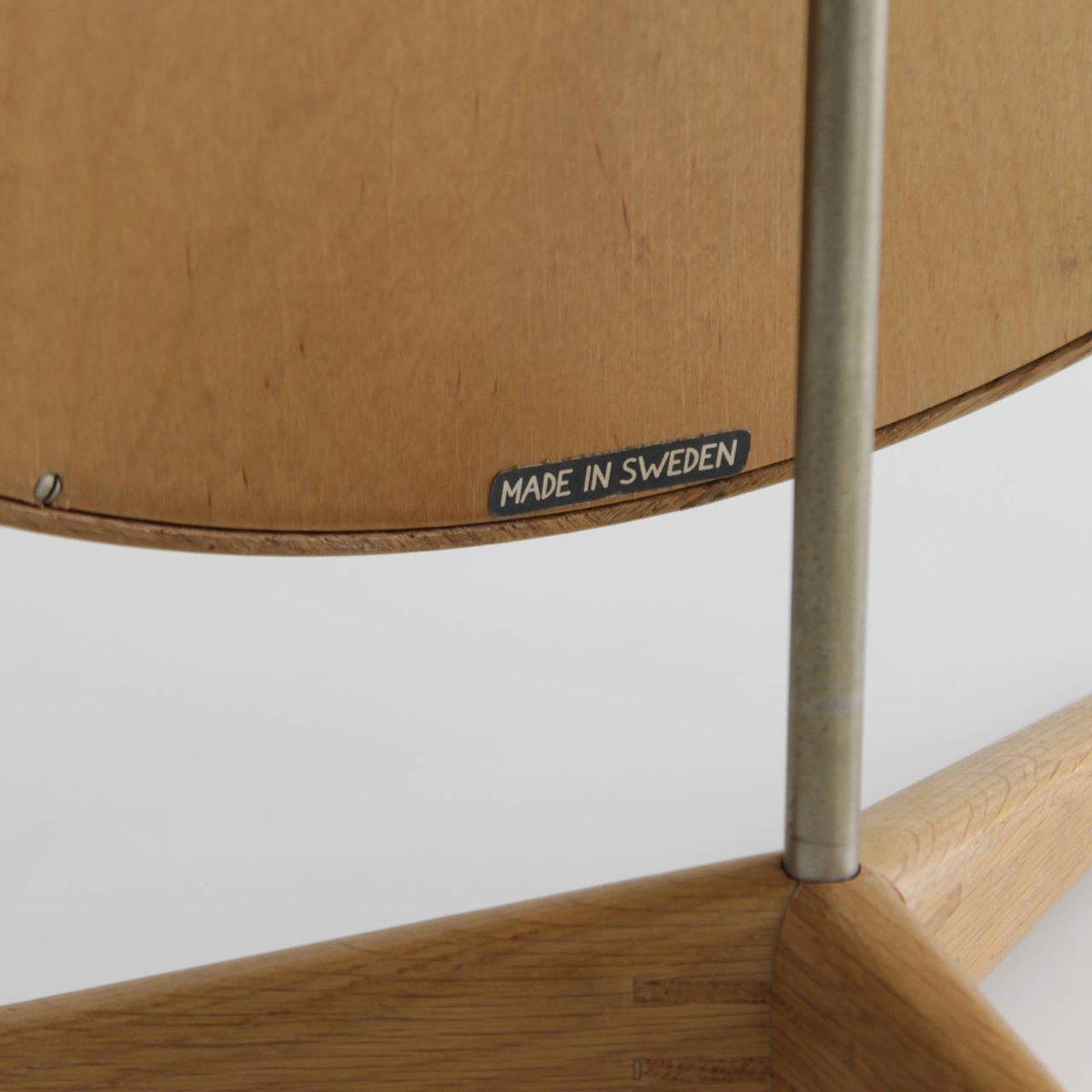 gerahmter tischsspiegel von uno osten kristiansson f r luxus of sweden 1960 bei pamono kaufen. Black Bedroom Furniture Sets. Home Design Ideas