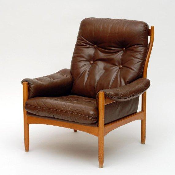 Schwedischer Mid-Century Sessel, 1965